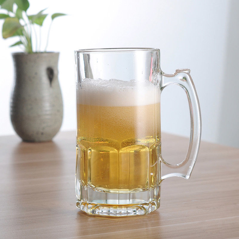 1L 33oz Custom Beer Glass Mug  1000ml Glass Beer Mug Beer Stein 1 Liter